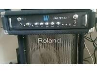 Warwick PRO FET 300W Bass amp in rack mount