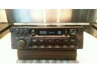 vauxhall radio cassette