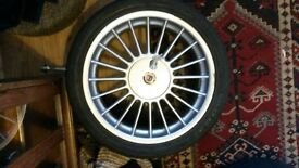 ***ALPINA 18' inch Softline & Tyres ( Good condition full set caps & keys )***
