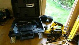 Various power tools and hand tools for sale