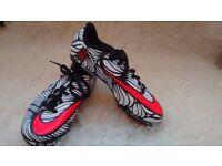 Nike Neymar Hyper Venom Football boots UK 1.5 unused