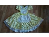 Goldilocks fancy dress 7-8