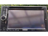 KENWOOD CAR DVD SAT NAV PLAYER