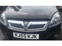 2005 VAUXHALL ZAFIRA SRI 16V (MANUAL PETROL)