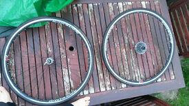 Bontrager Front and Rear Wheels with Gatorskin Tyres