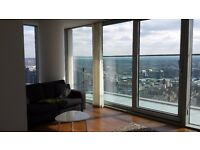 *** AMAZING 2 BEDROOM 34TH FLOOR APARTMENT IN LANDMARK TOWER E14 CANARY WHARF ***