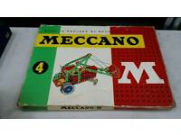 Vintage mecca no set 4 complete with instructions