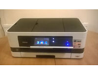 Brother All-In-One A3 Inkjet Printer & Scanner, MCF-J4510DW, Wireless, Automatic Feeder