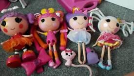 Lalaloopsy dolls bundle girls toy