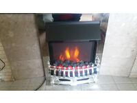 Chrome insert Eectric fire