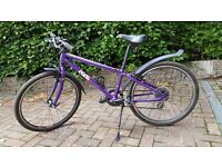 Child's Bike. Frog 62. Very good condition. Purple