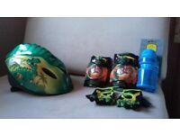 Dinosaur bike helmet
