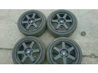 Rota Grids Wheels 17x8 ET35 Pcd 5 x 120 suitable for bmw volkswagen models