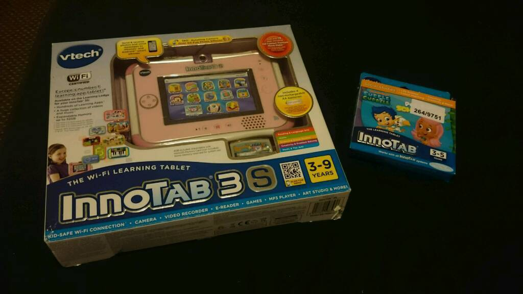 INNOTAB 3S PLUS BUBBLE GUPPIES GAME | in Colne, Lancashire | Gumtree
