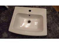 Brand new bathroom sink