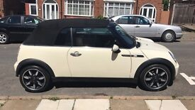 Automatic MINI Convertible Sidewalk 1.6 2dr Low mileage, lady owner, 12 months MOT included