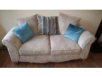 2 seater pillow back sofa