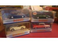 50+ model vintage cars and trains.