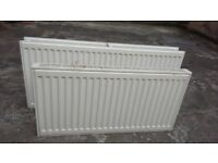 2 Central Heating Radiators (Used) - K22 & K11