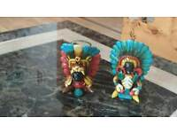 Mexican ( Mayan Warriors) Shot Glasses