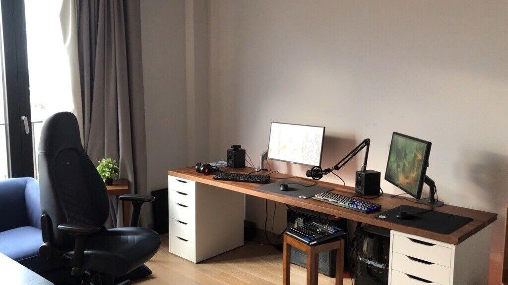 Desk Ikea Karlby Top In Putney
