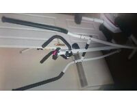 Brand new unboxed Davina 2 in 1 cross trainer and exercise bike, selling due to moving house