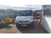 Vauxhall movano flatbed pickup 12ft