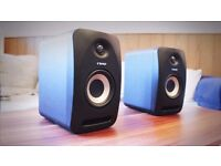 Pair of Tannoy 402 Studio Monitor Speakers - Perfect condition, still in warranty