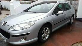 Peugeot 407 estate 1.6 hdi