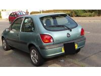 2002 Ford Fiesta 1.2l 3 door hatchback. Electric windows, ABS, Power steering. Perfect 1st car
