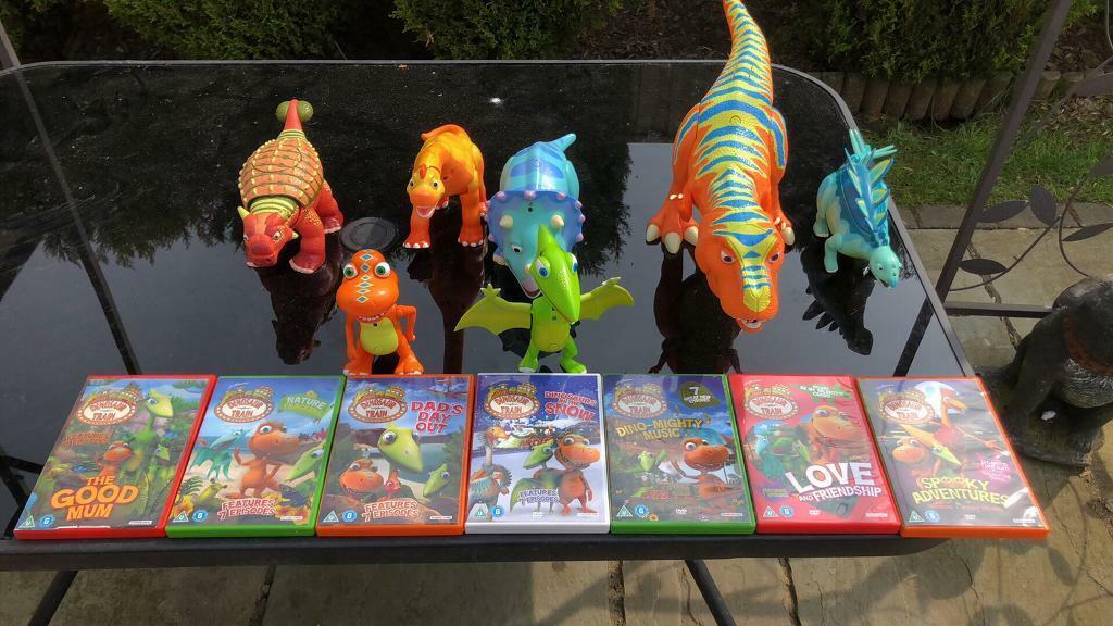 Dinosaur Train Figures And Dvds In Headington Oxfordshire Gumtree