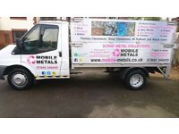 SCRAP METAL COLLECTION IN HAMPSHIRE, SCRAP CARS WANTED AND RUBBISH CLEARANCE - MOBILE METALS