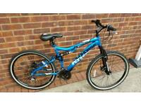 Iron horse full suspension mountain bike
