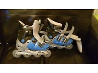 No fear size 6 adult inline skates