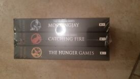 The Hungrr Games book x3 brand new