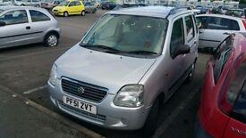 suzuki wagon r good car for ride and ppl with leg problem long mot £390