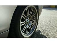 "Bmw 18"" m3 wheels 5x120 staggered"