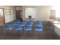 Office/training space for seminars/workshops