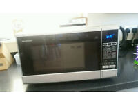 BARGAIN SALE MICROWAVE OVEN OPEN TO OFFERS !
