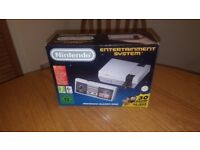 Nintendo NES Mini Classic. Official! 300+ GAMES NES, SNES, MD, GBA etc MINT!