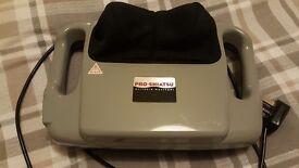 Pro Shiatsu Massager. Electrical, no batteries, strong massage.