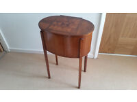Side Table (antique sewing box)