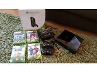 X Box 360 - 500 GB plus games