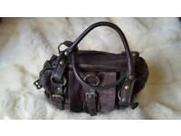 River island genuine leather handbag
