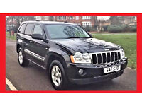 (New Shape) --- Jeep Grand Cherokee 3.0 CRD V6 Limited --- Diesel Automatic --- Leather Seats -- P X