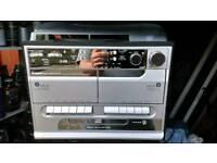 Steepletone SMC386-CBT 5 in 1 hi fi recorder cassette deck record player