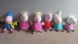 Peppa pig soft toys bungle