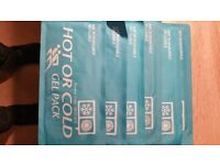 Hot or Cold Gel Packs - Injury Recovery x 6