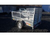 NEW Car trailer with mesh and ramp 6 x 4 x 2,25 £750 inc vat