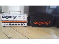 Orange Terror Bass Amplifier with carry case.
